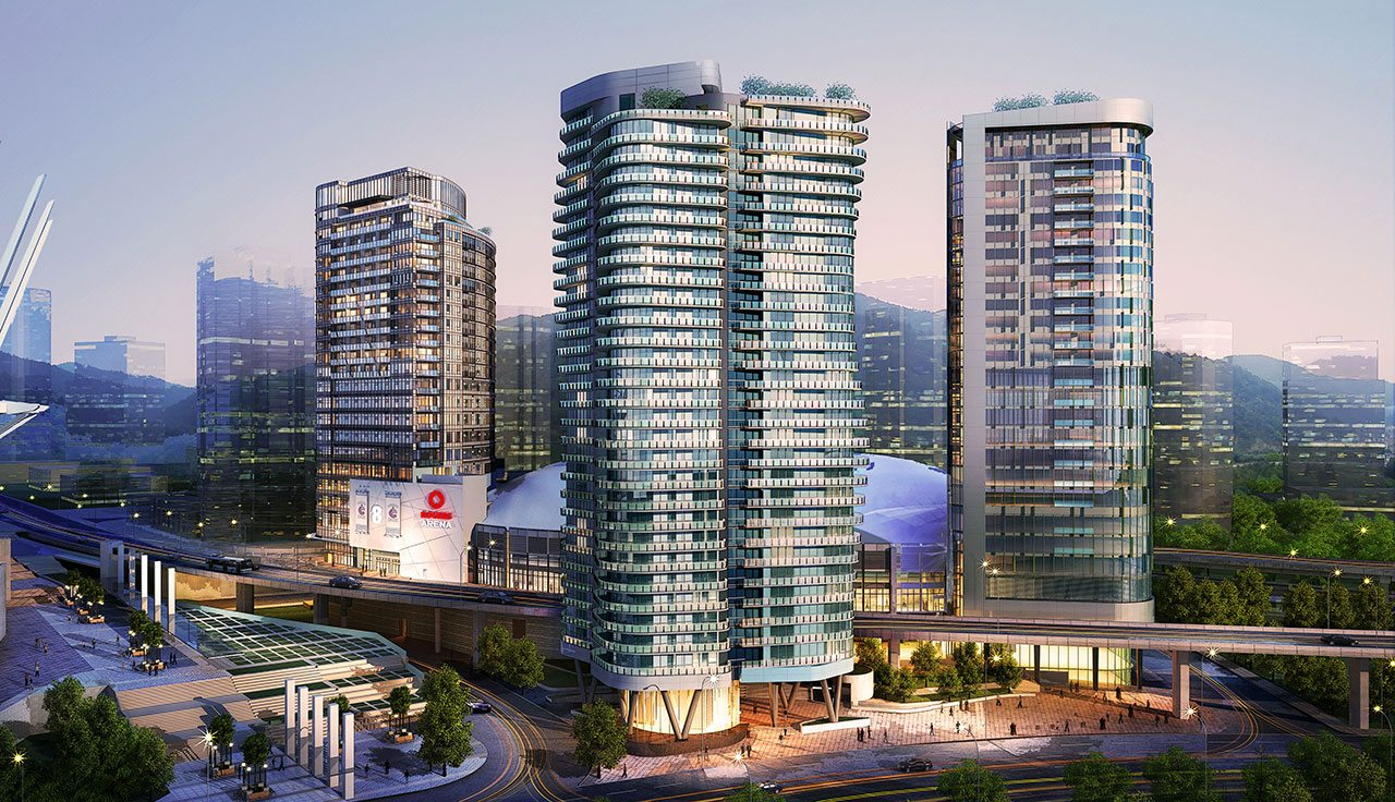 Aquilini Centre Vancouver Rental Apartments