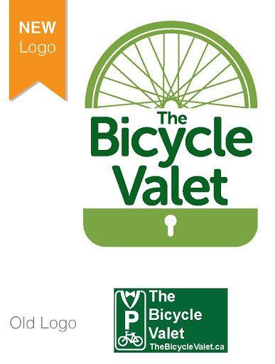 Bicycle Valet Logo Change
